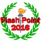 Flash Point 2016 Logo with Wreath and Torche