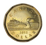 Canadian Loonie Dollar Coibn