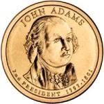 John Adams Dollar Coin