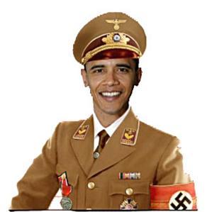 Obama in NAZI Uniform