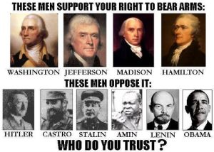 GUN RIGHTS SUPPORTERS
