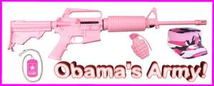OBAMA'S PINK ARMY