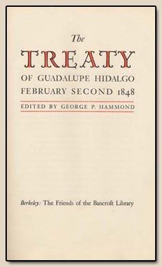 Treaty of Gualoupe Hidalgo