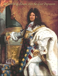 Obamna as the SUN KING