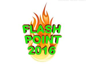 FLASH POINT 2016 LOGO -- WITH FLAME # 1